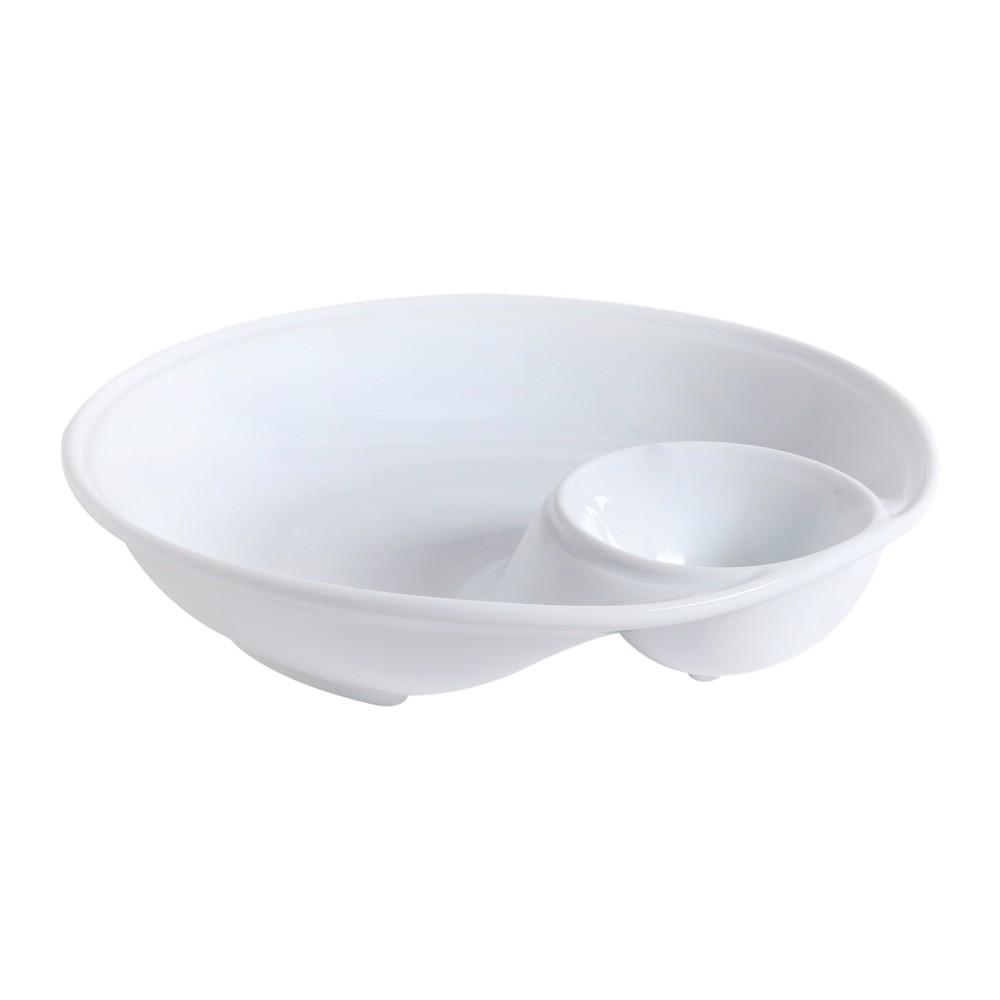 Plato de cerámica 12 pulgadas de diámetro para boquitas