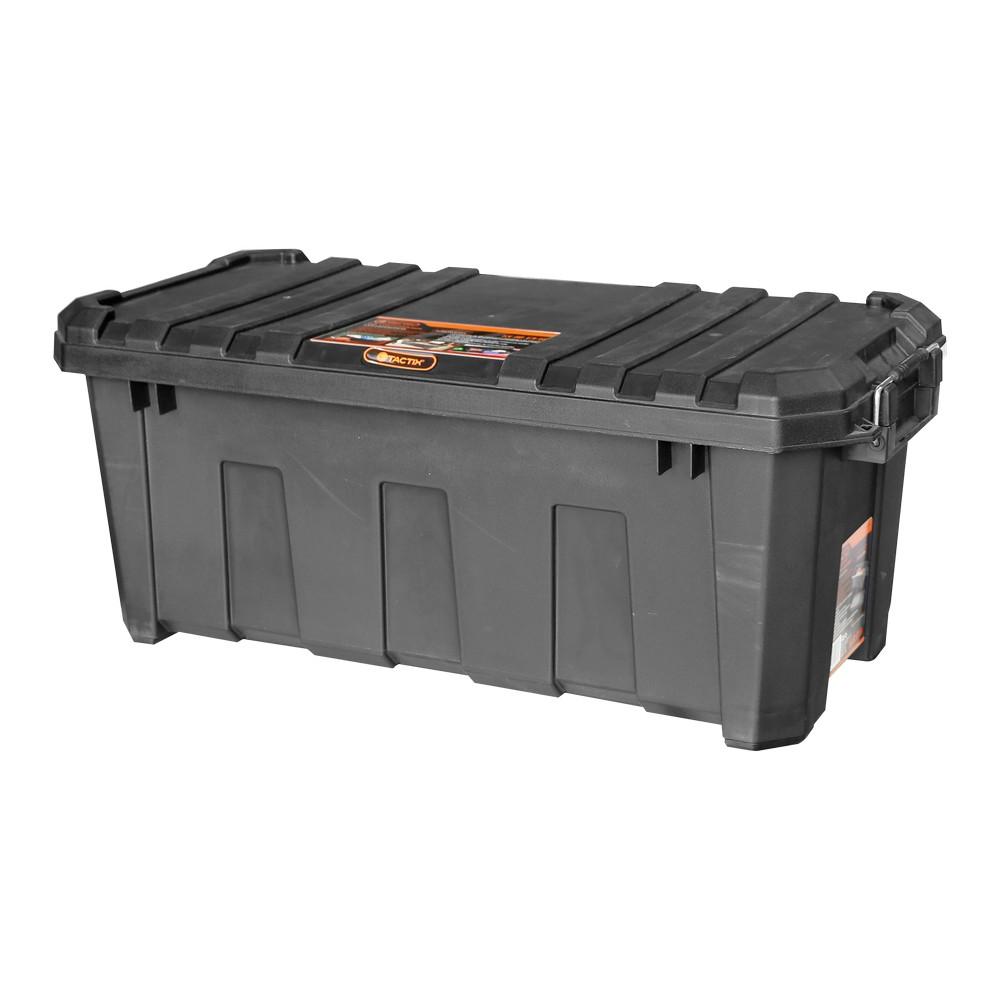 Caja organizadora plastica 60 l fuerte