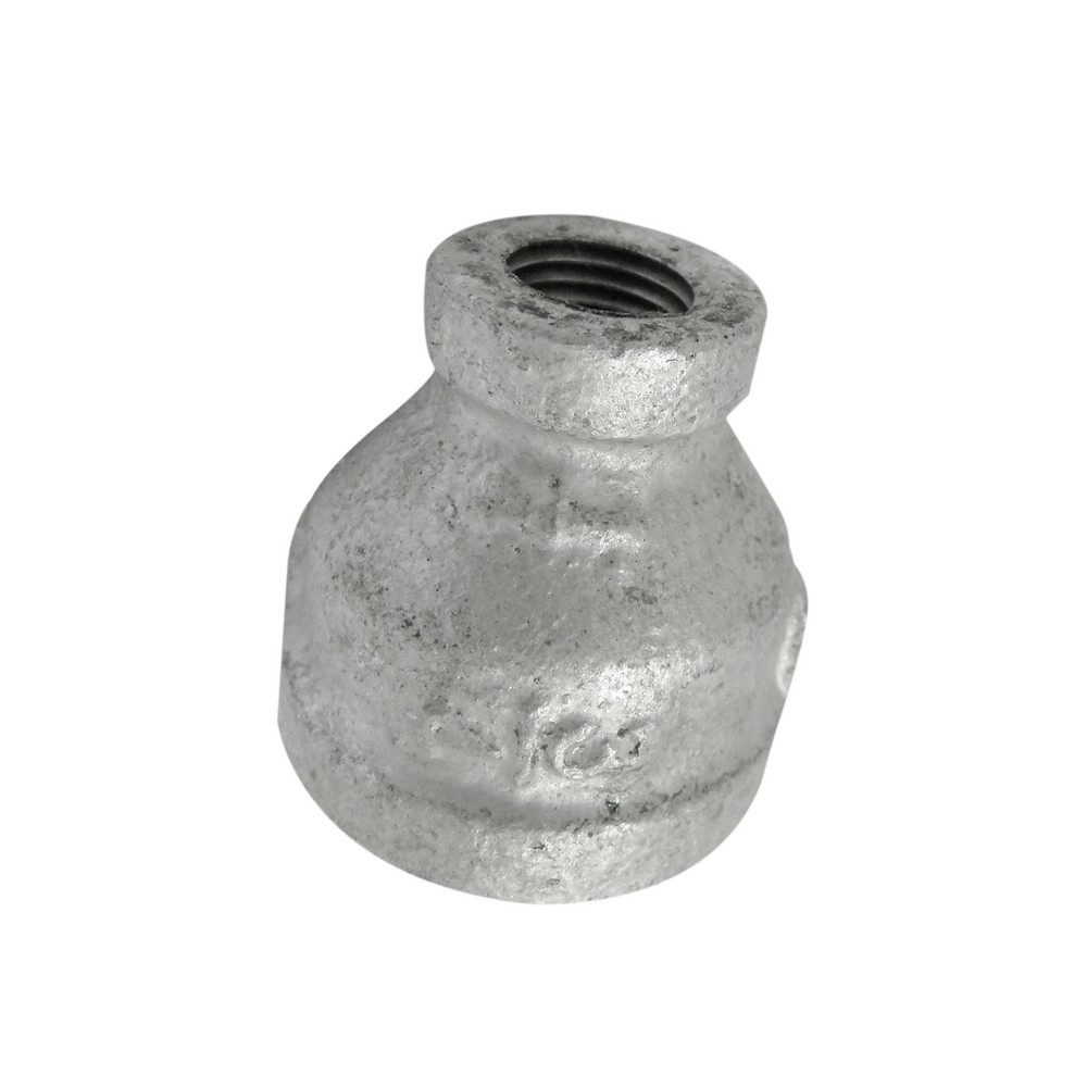 Reductor campana galvanizado 3/4 a 1/4 pulg