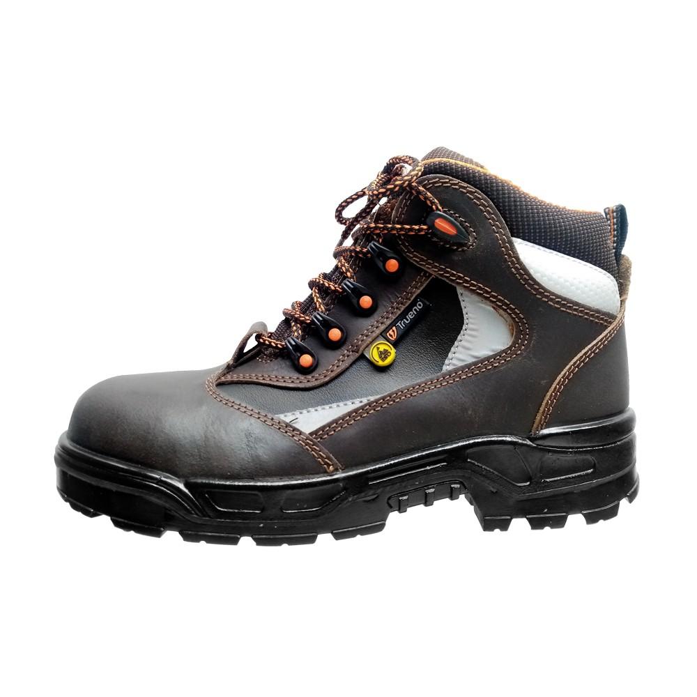 Zapato industrial cubo de poliamida talla 9