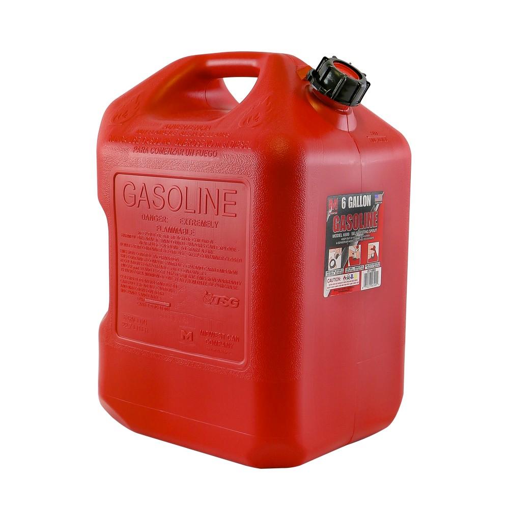 Depósito para gasolina 6 gal