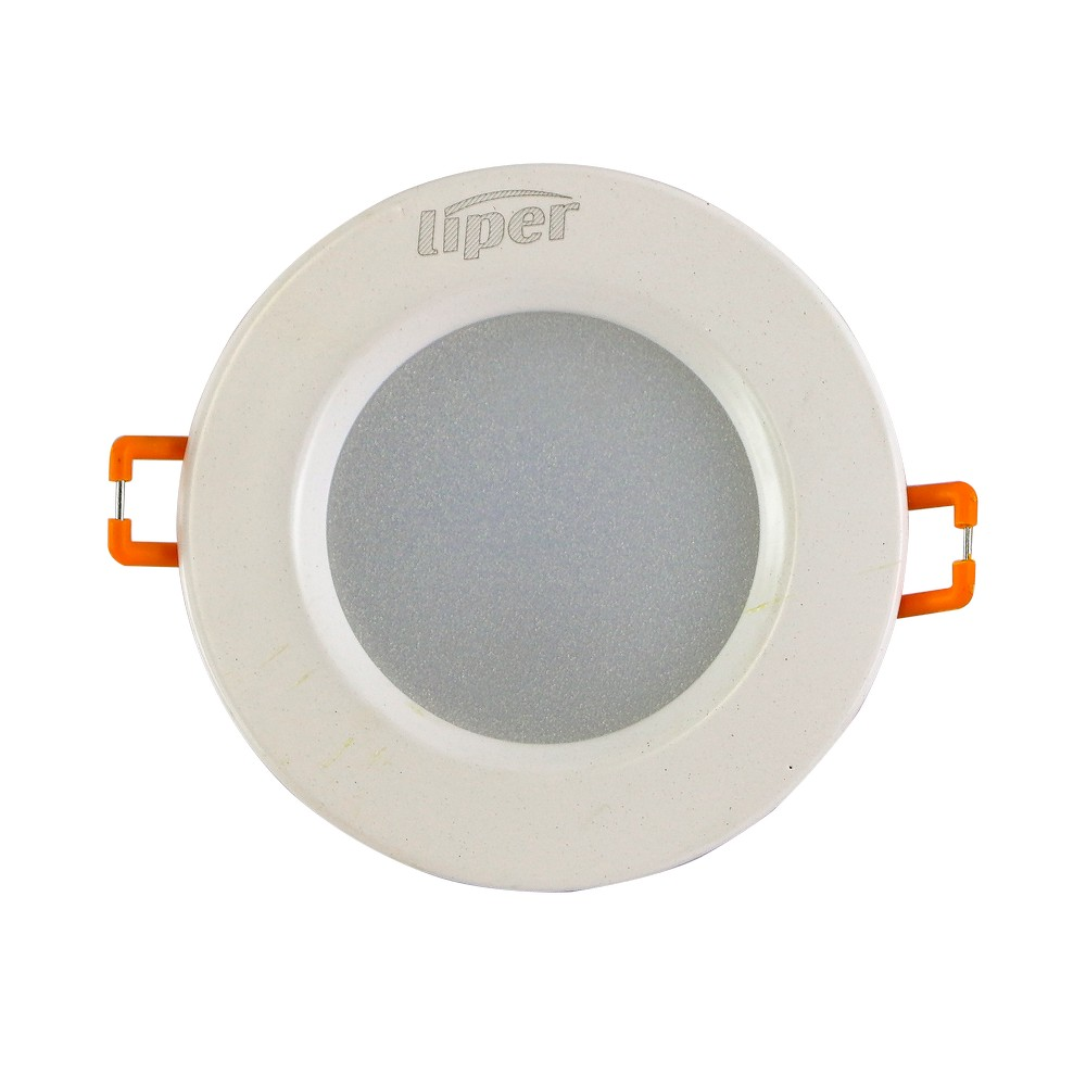 Panel led redondo 3w luz blanca 100-240vac