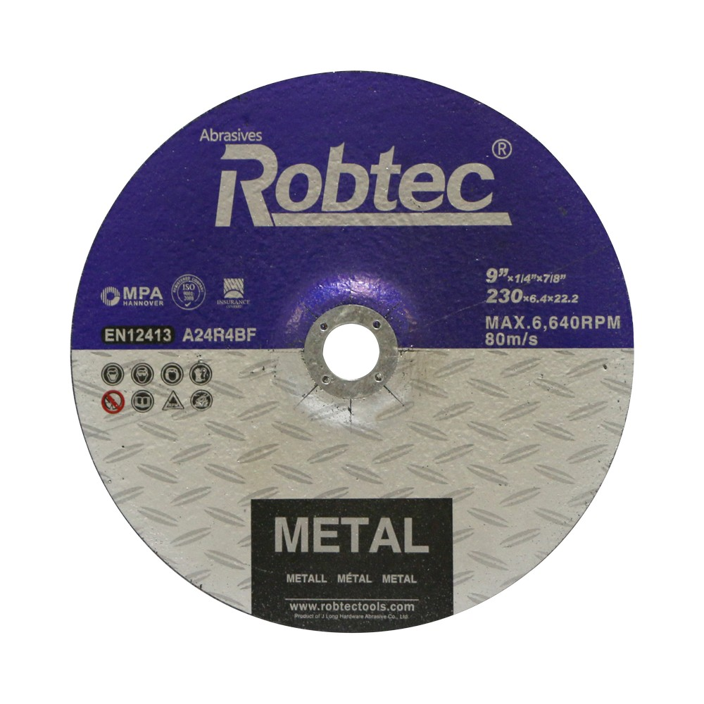 Disco desbaste para para metal desbaste 9 x 1/4 x 7/8 pulg
