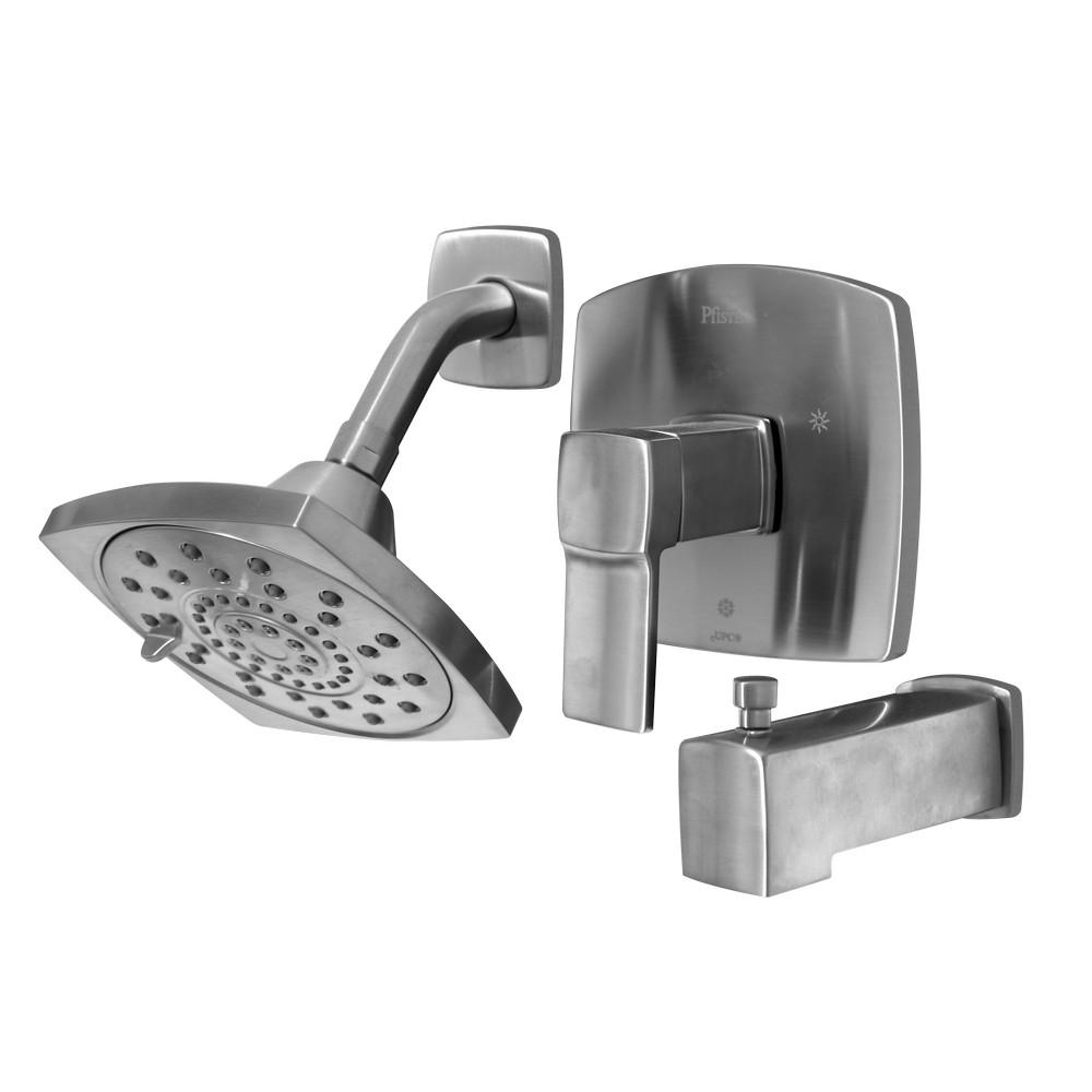 Mezclador monomando para ducha y tina