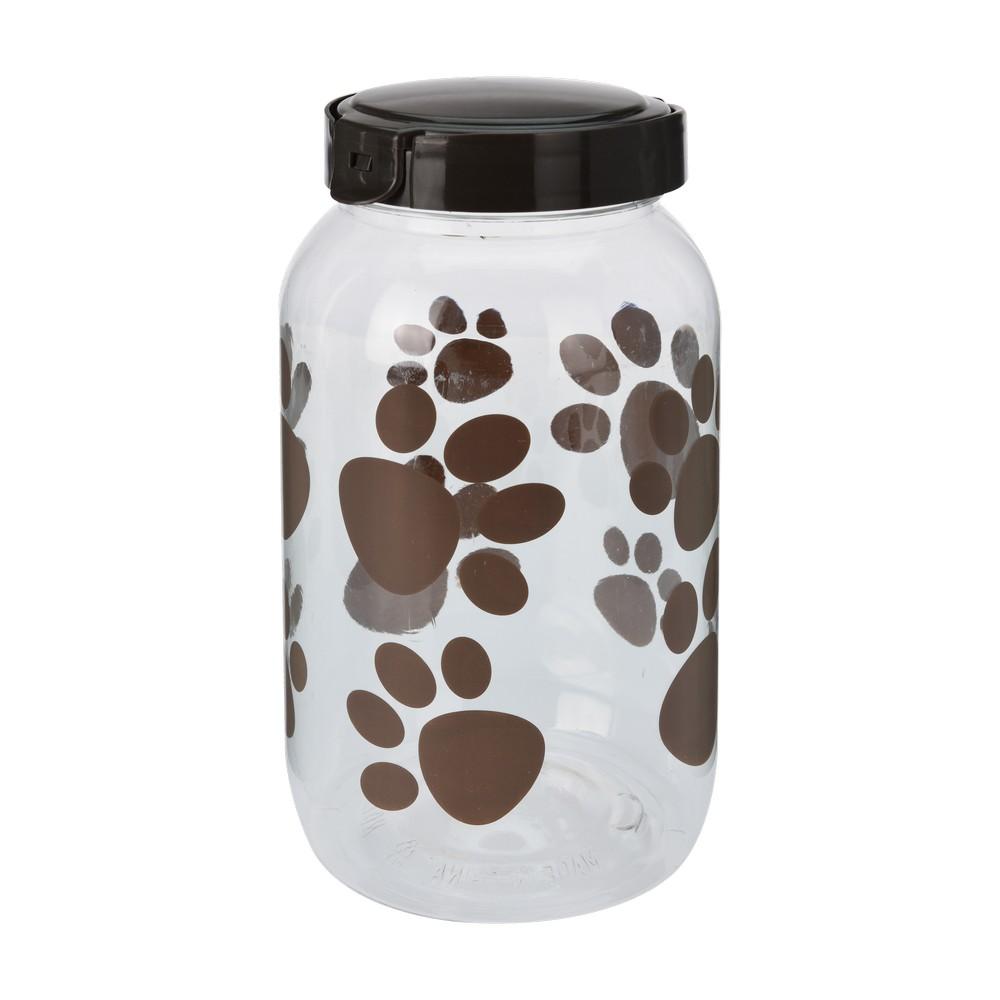 Deposito plastico para guardar comida de mascota