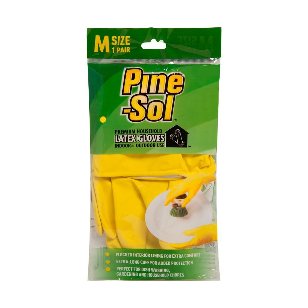 Guantes de latex talla m pine-sol