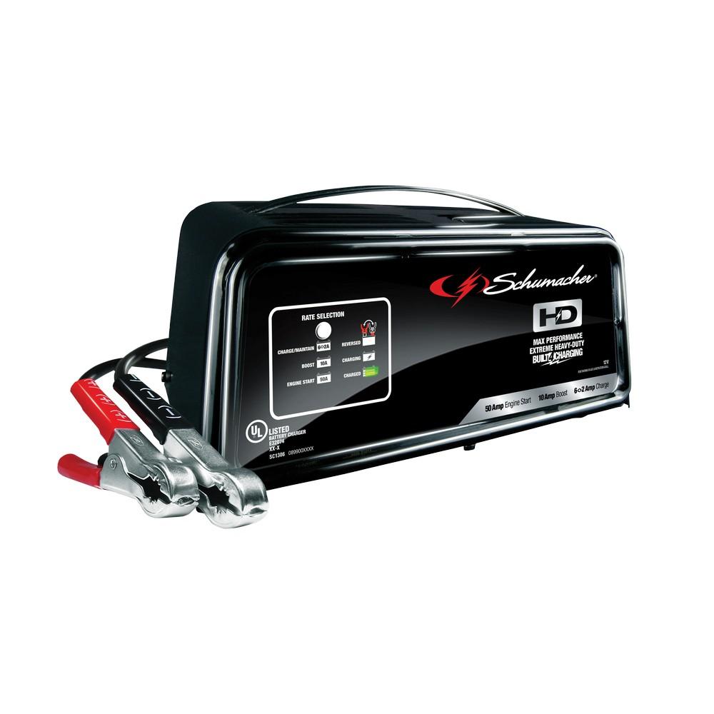 Cargador y arrancador para batería de carro 2/8 amp 6/12 v