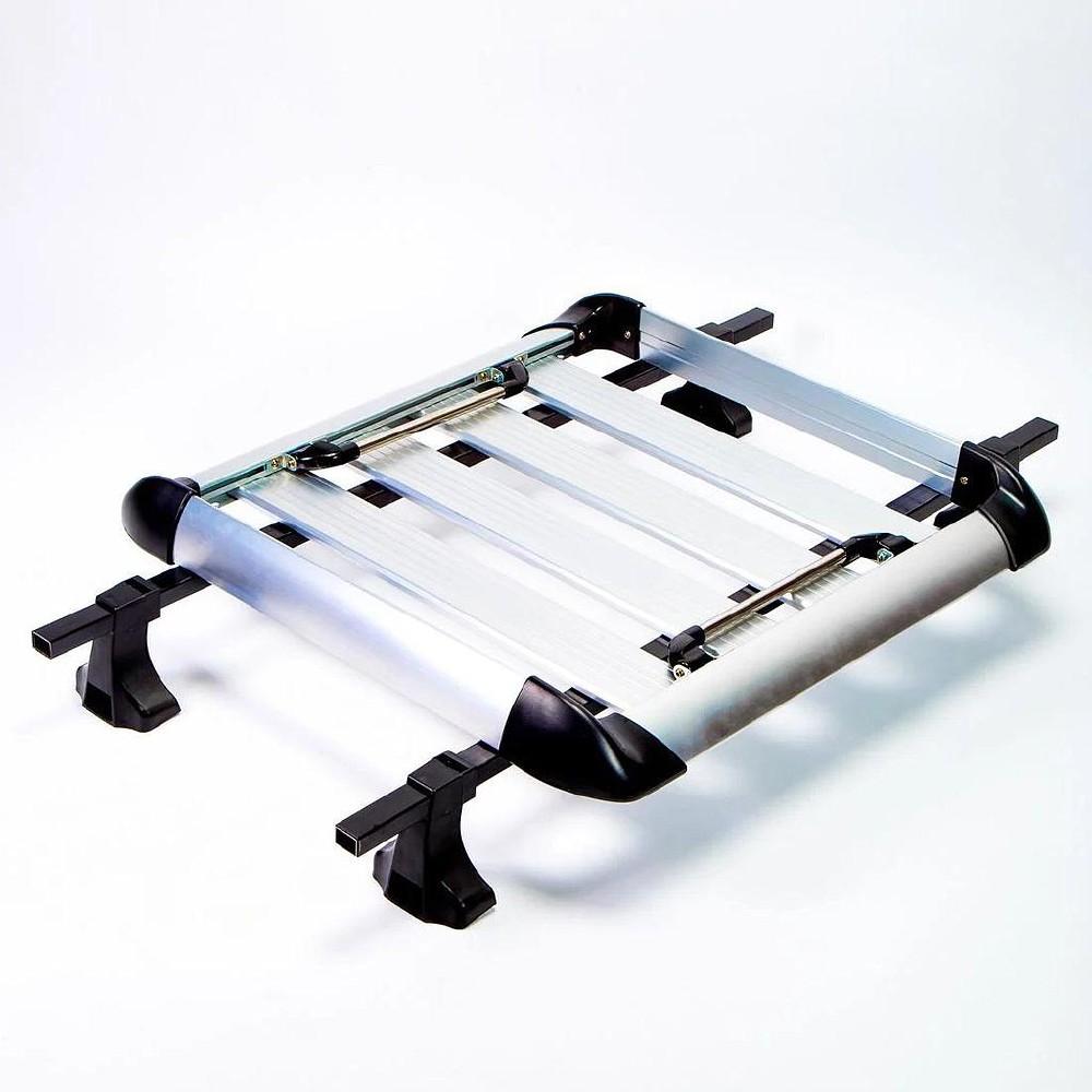 Canasta con barras porta equipaje para carro 30 x 30 pulg