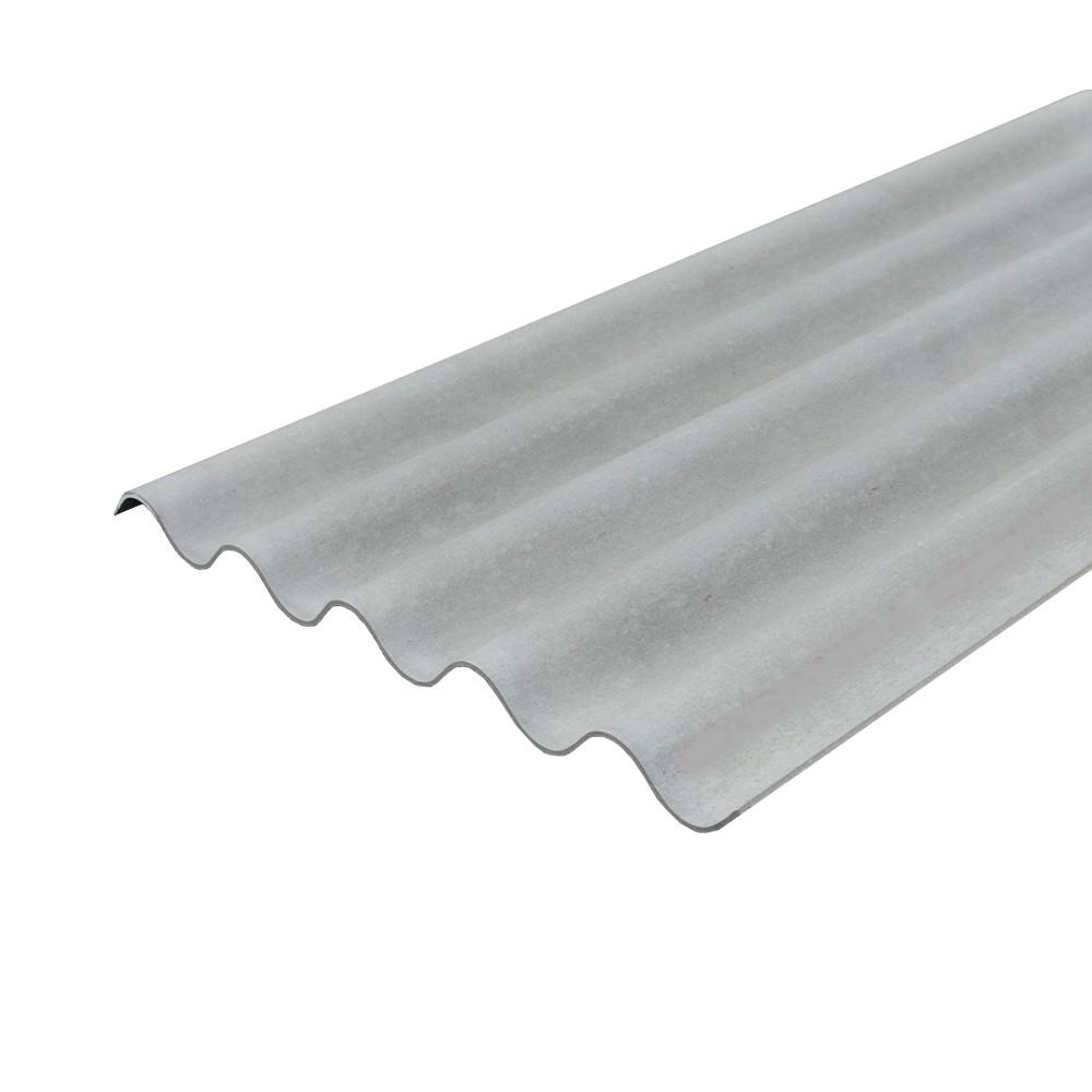 Lámina canal gris 6 pies p7 92