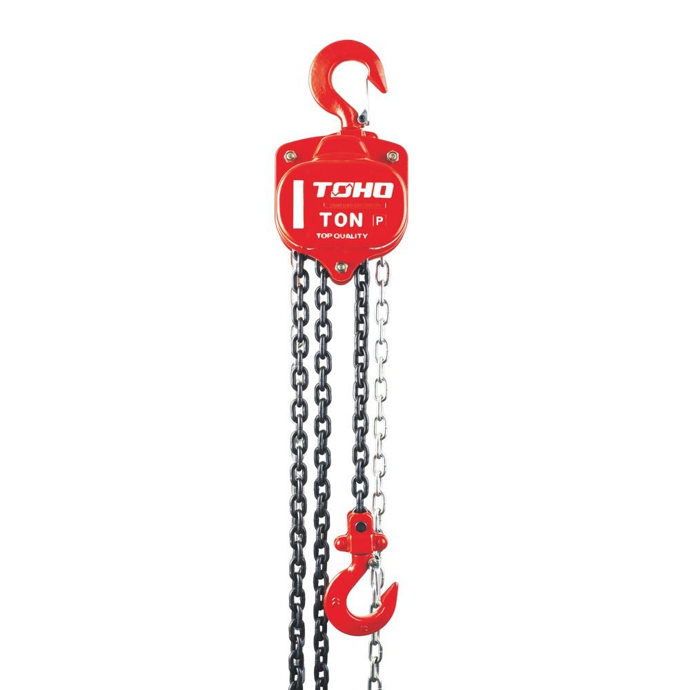 Tecle de cadena tipo pesado 5 ton x 3 mts