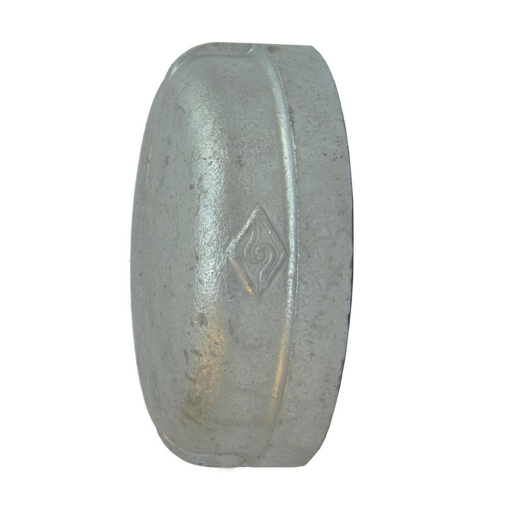 Tapón hembra galvanizado de 3 pulg