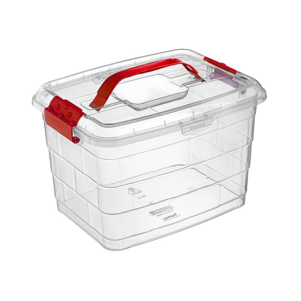 Caja organizadora plastica 14 l