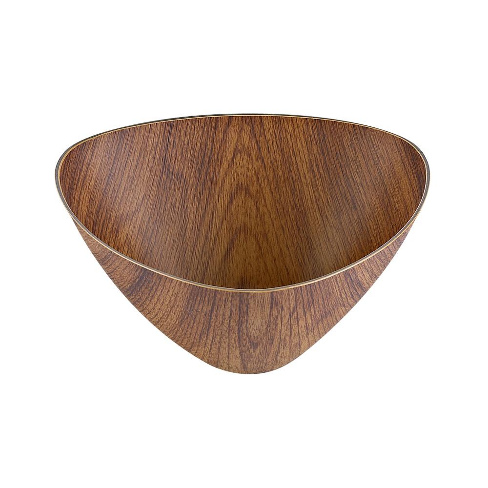 Bowl plástico triangular extra grande