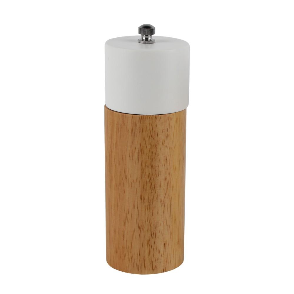 Pimentero con molino de madera 16.5cm surtido