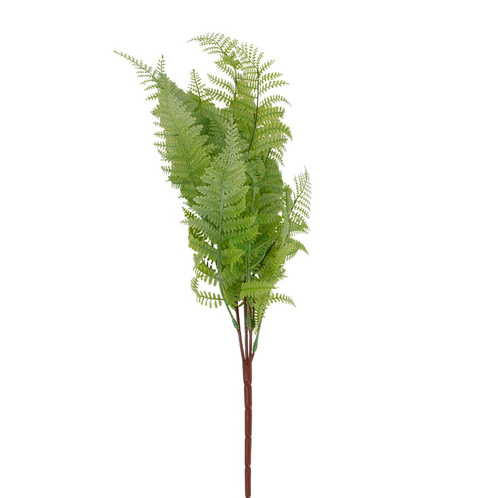 Follaje artificial helecho verde