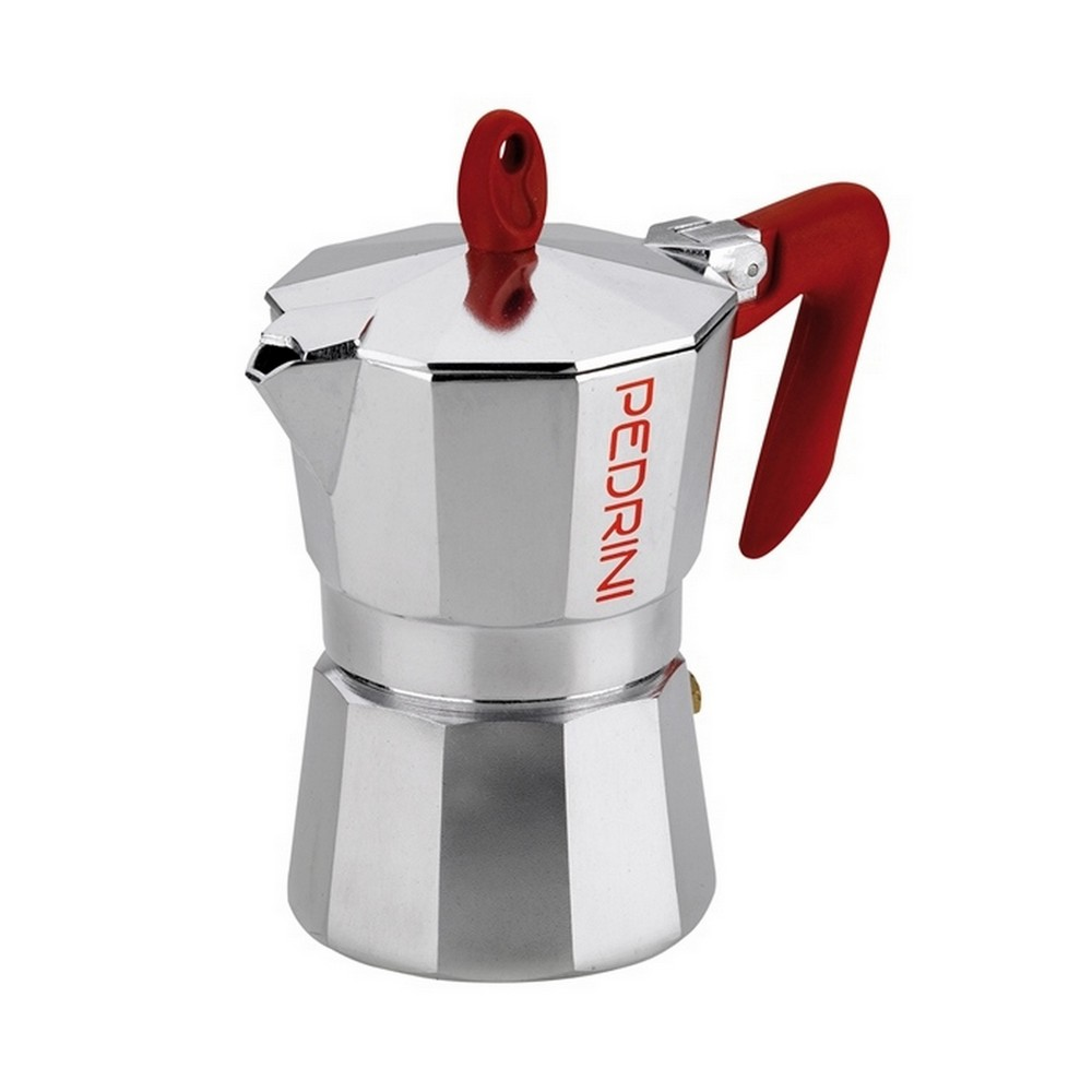Cafetera italiana de aluminio 3 tazas