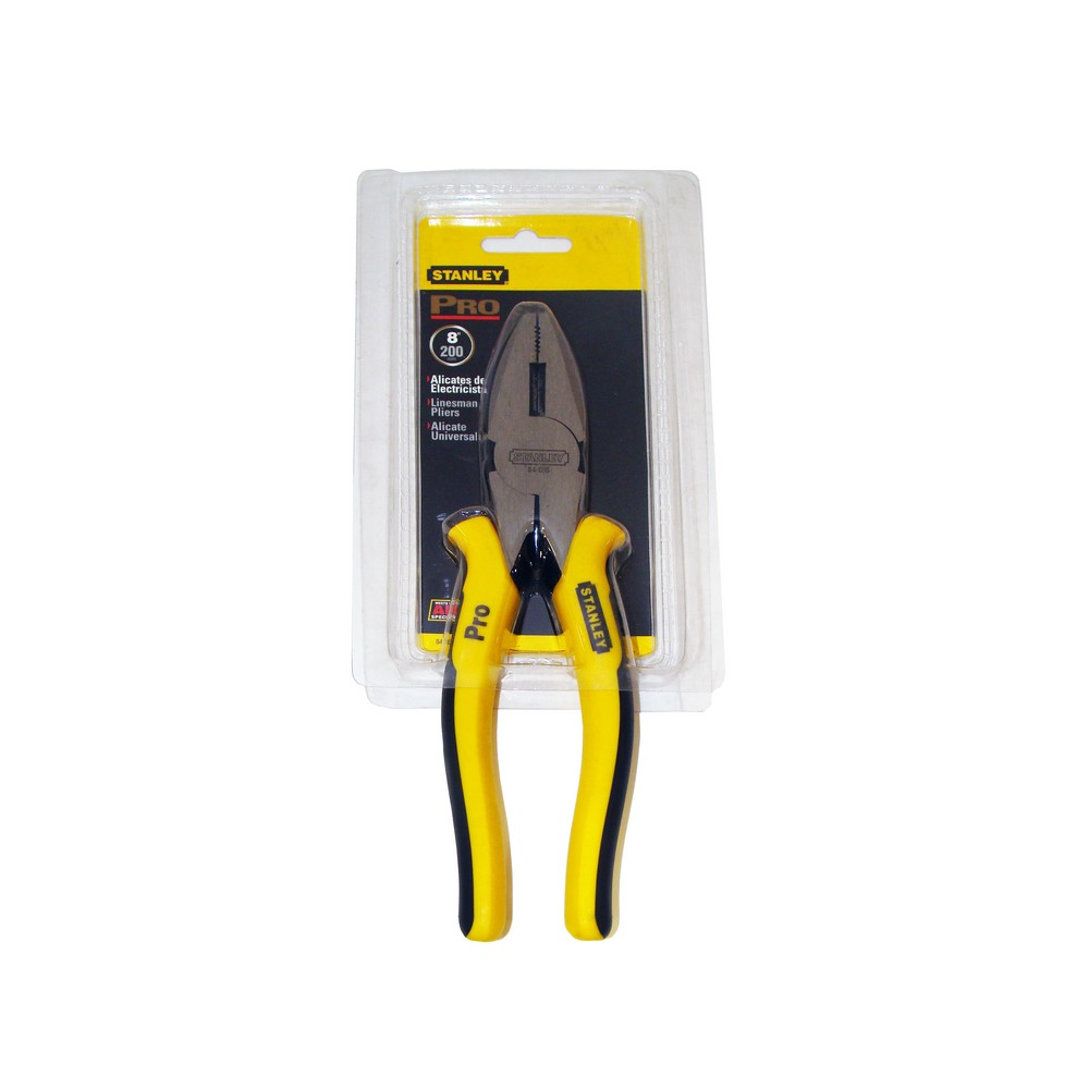 Tenaza para electricista de 8 pulgadas profesional