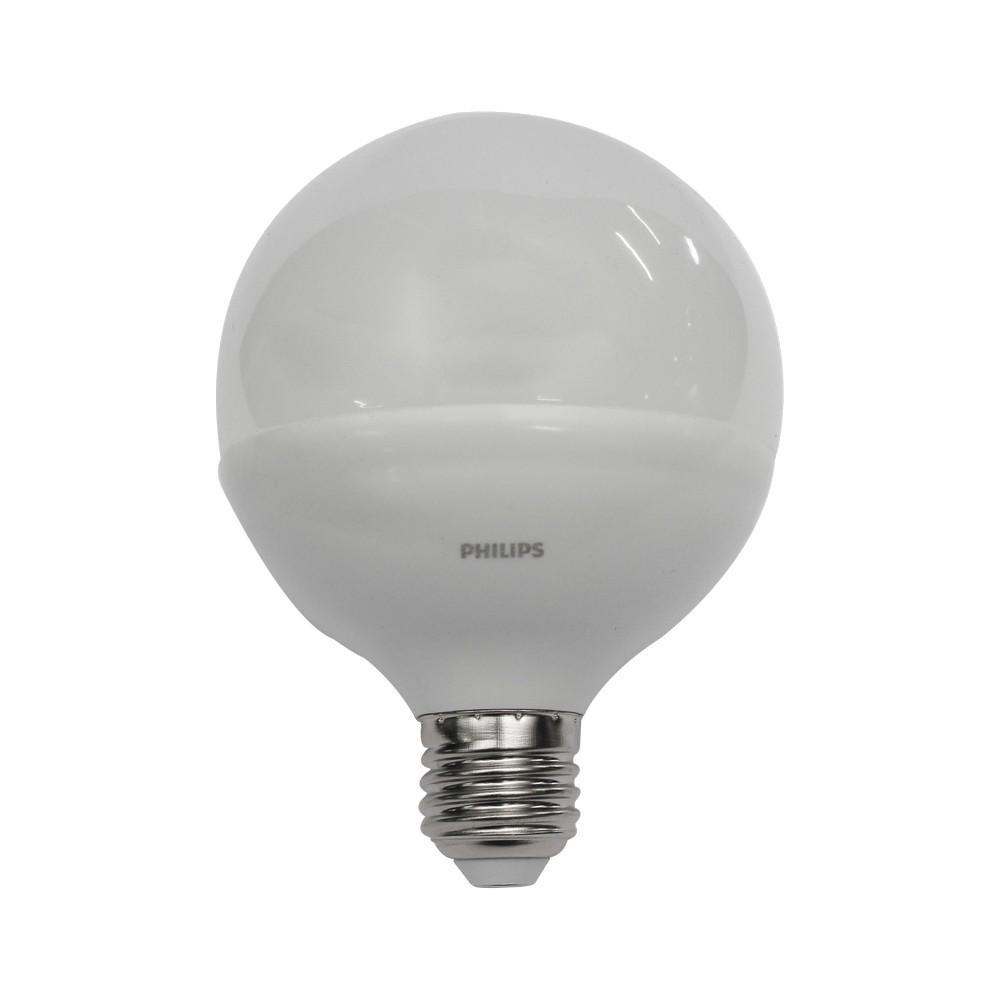 Foco led 9w e27 luz amarilla tipo globo