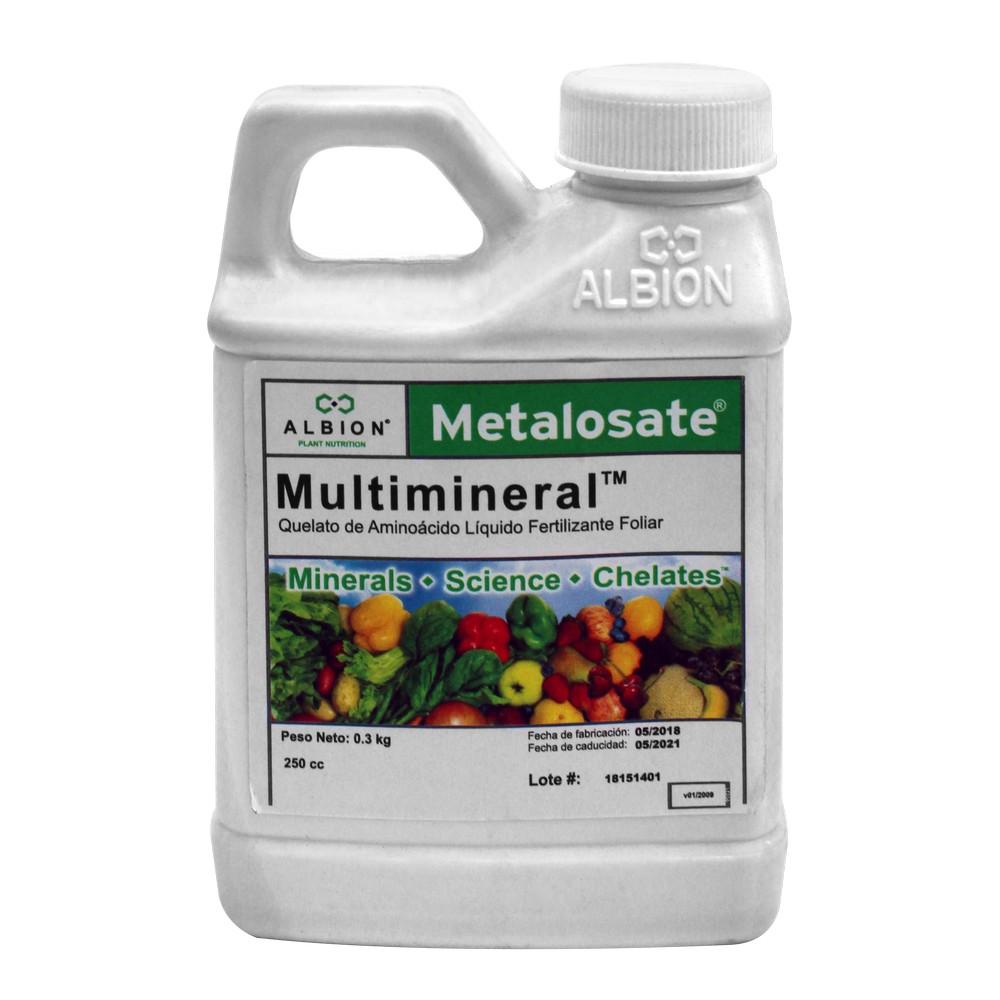 Fertilizante multimineral metalosate 250 ml