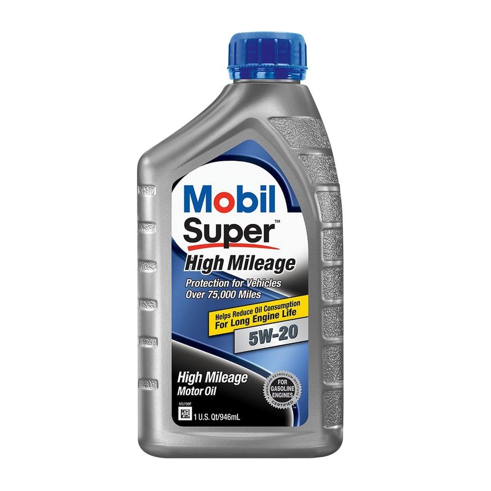 Aceite semi-sintético para motor de carro alto millaje 5w20 1 l