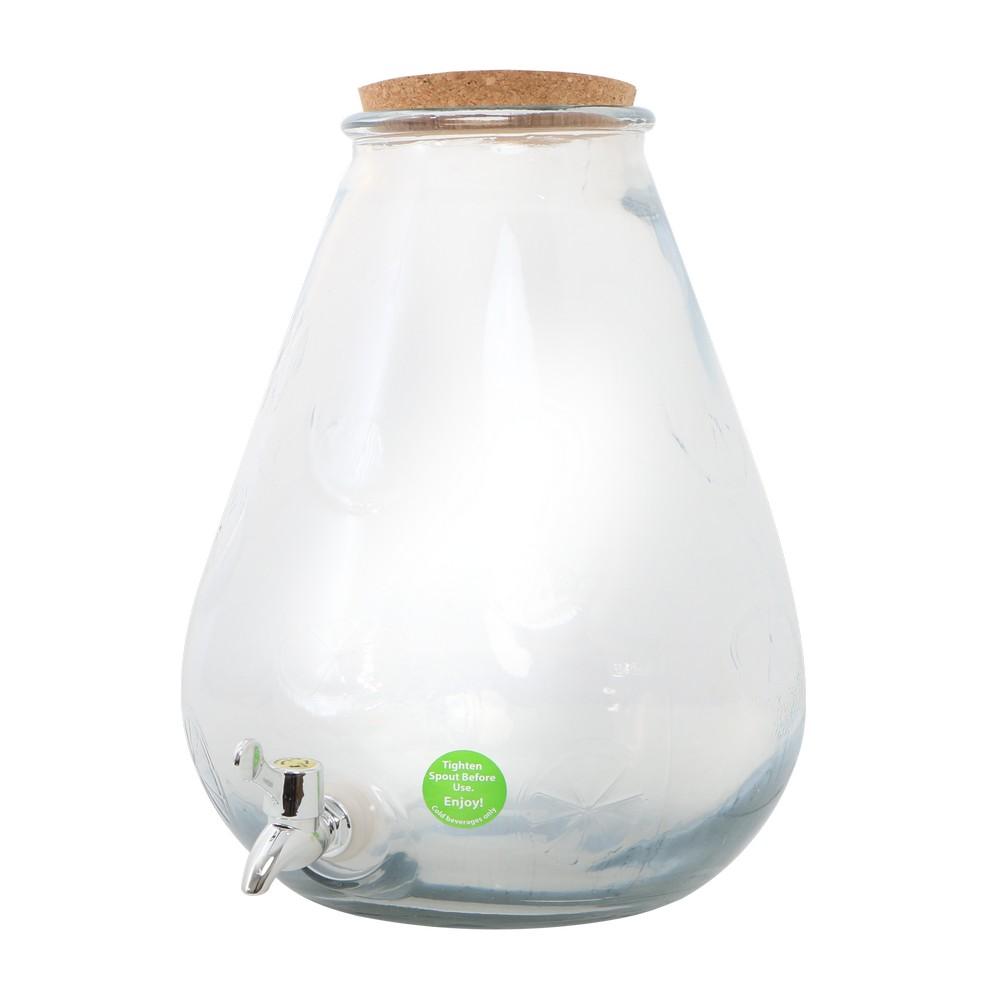 Dispensador para refrescos de vidrio 10 l