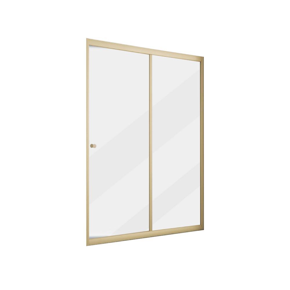 Puerta de vidrio para ducha 120x190 cm