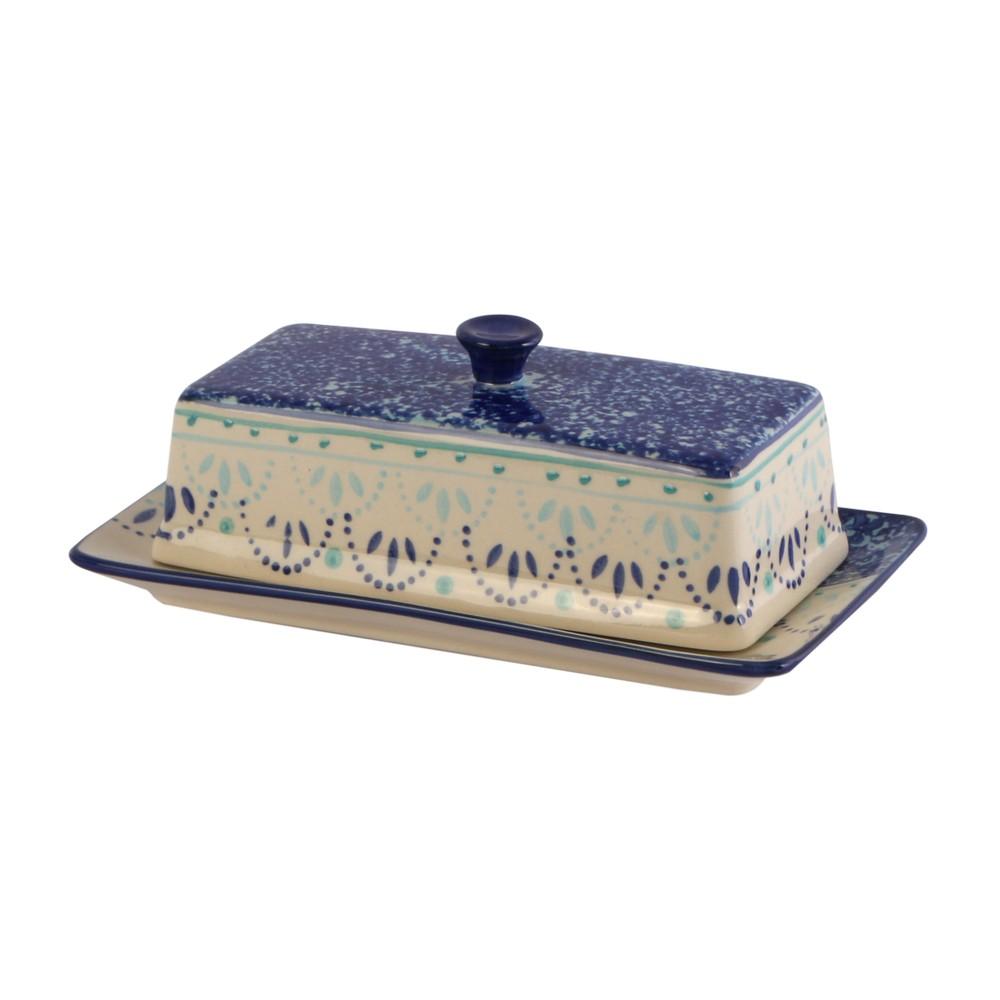 Mantequillera de cerámica