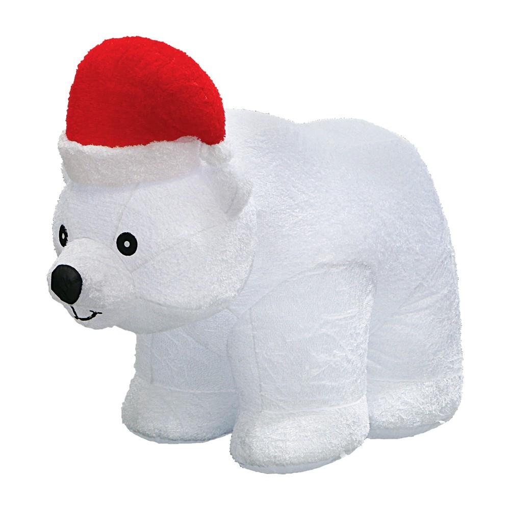 Inflable oso polar con luz led 6.5' sz19115-7