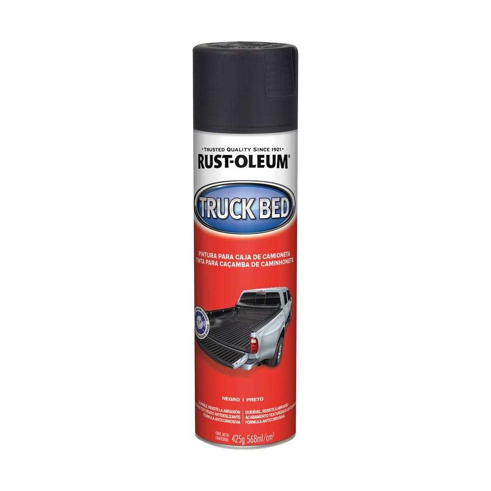 Pintura en spray para cama de pick up negro 15 oz