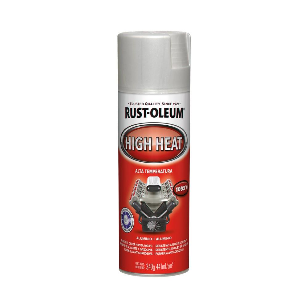 Pintura en spray para motor at aluminio 12 oz
