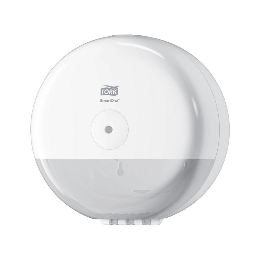 Dispensador de papel higiénico blanco mini smartone