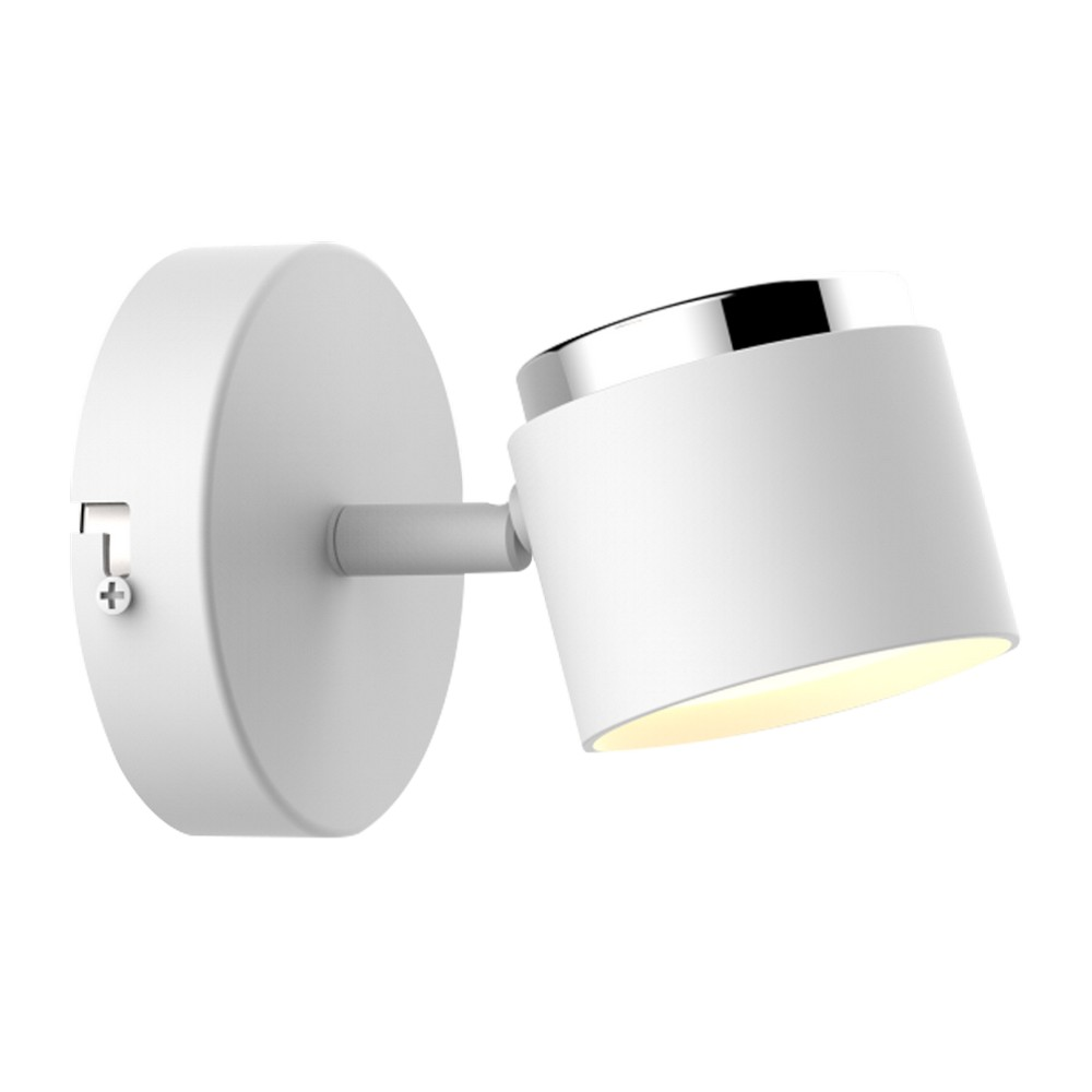 Lámpara de pared led 4.2w blanca