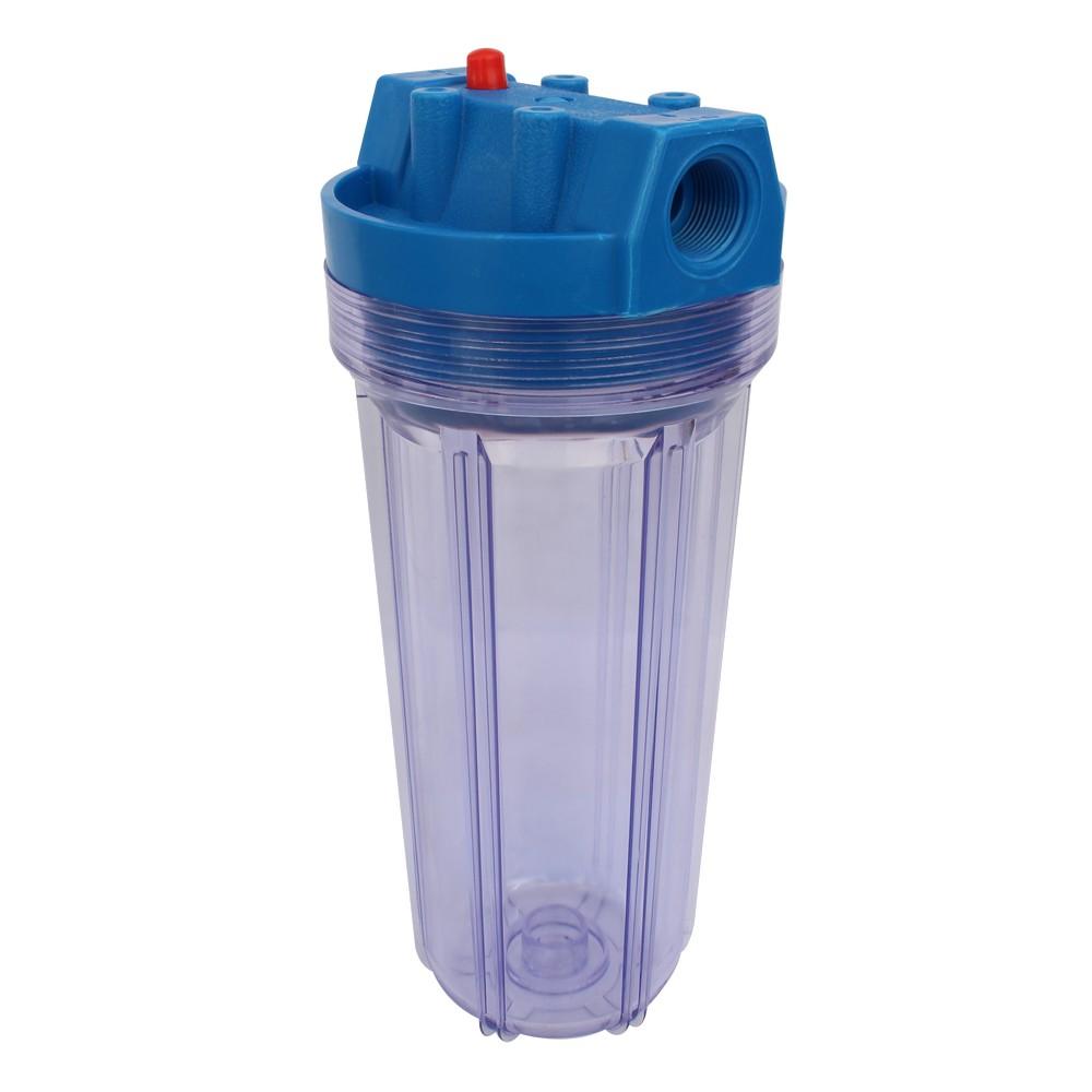 Filtro para agua acrílico sin cartucho 121 10a