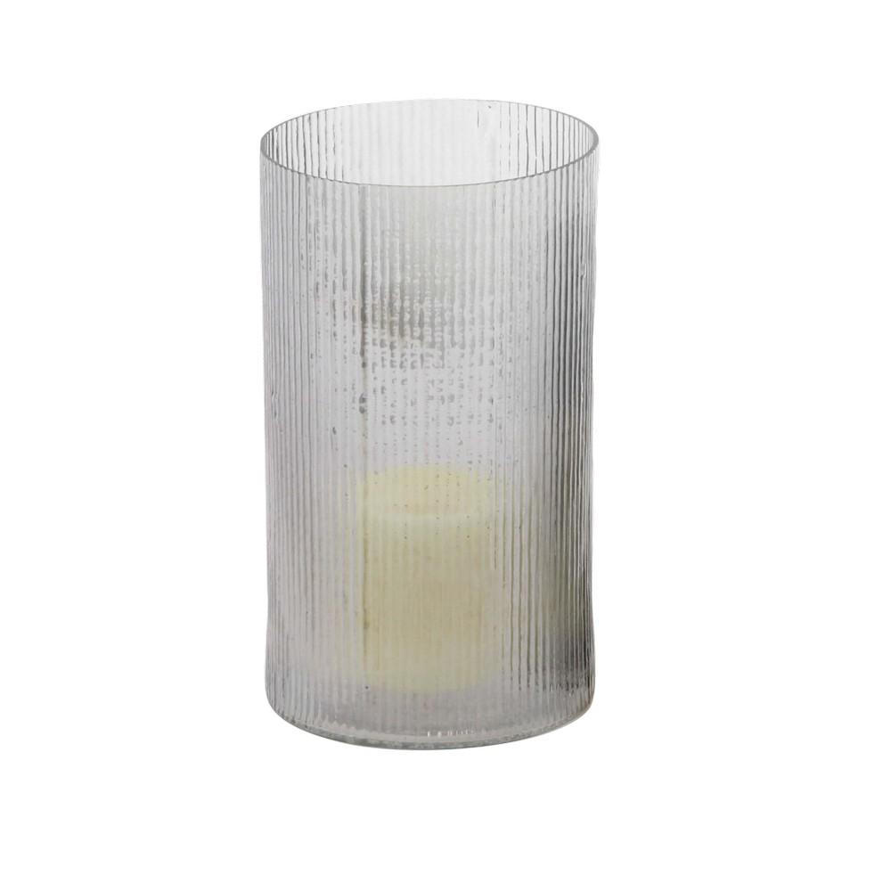 Portavela de vidrio 9 pulg