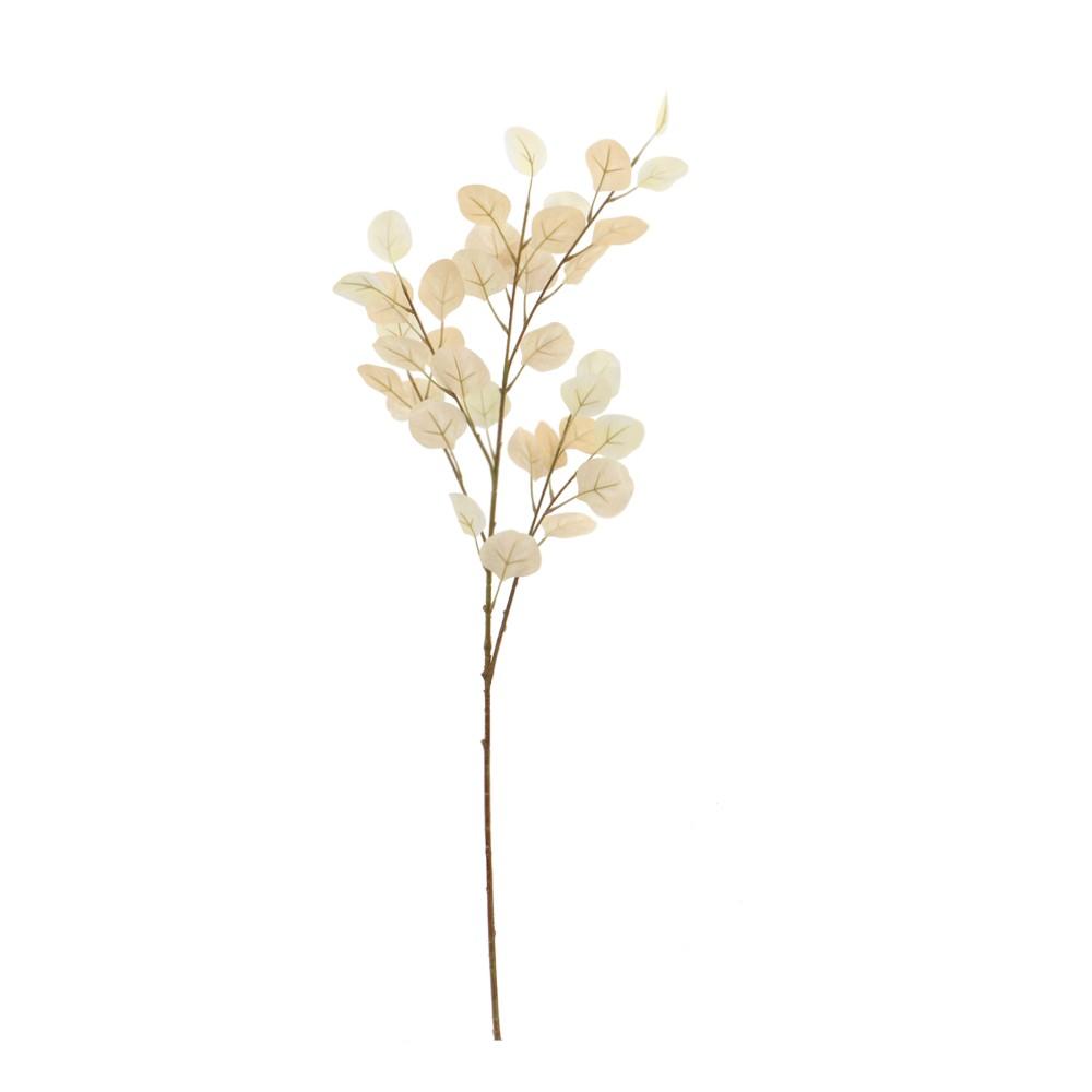 Rama navideña eucalipto crema