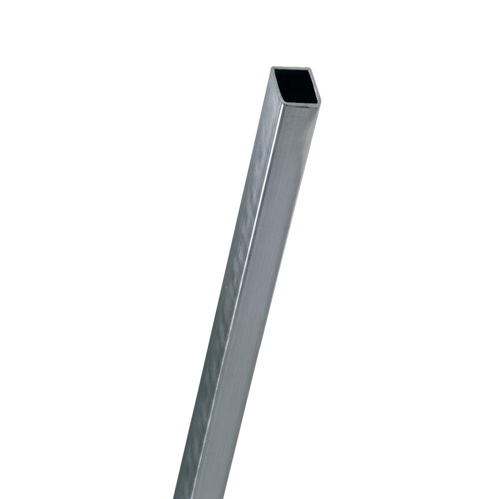 Tubo industrial cuadrado de 1 pulg chapa 20 (0.90mm)