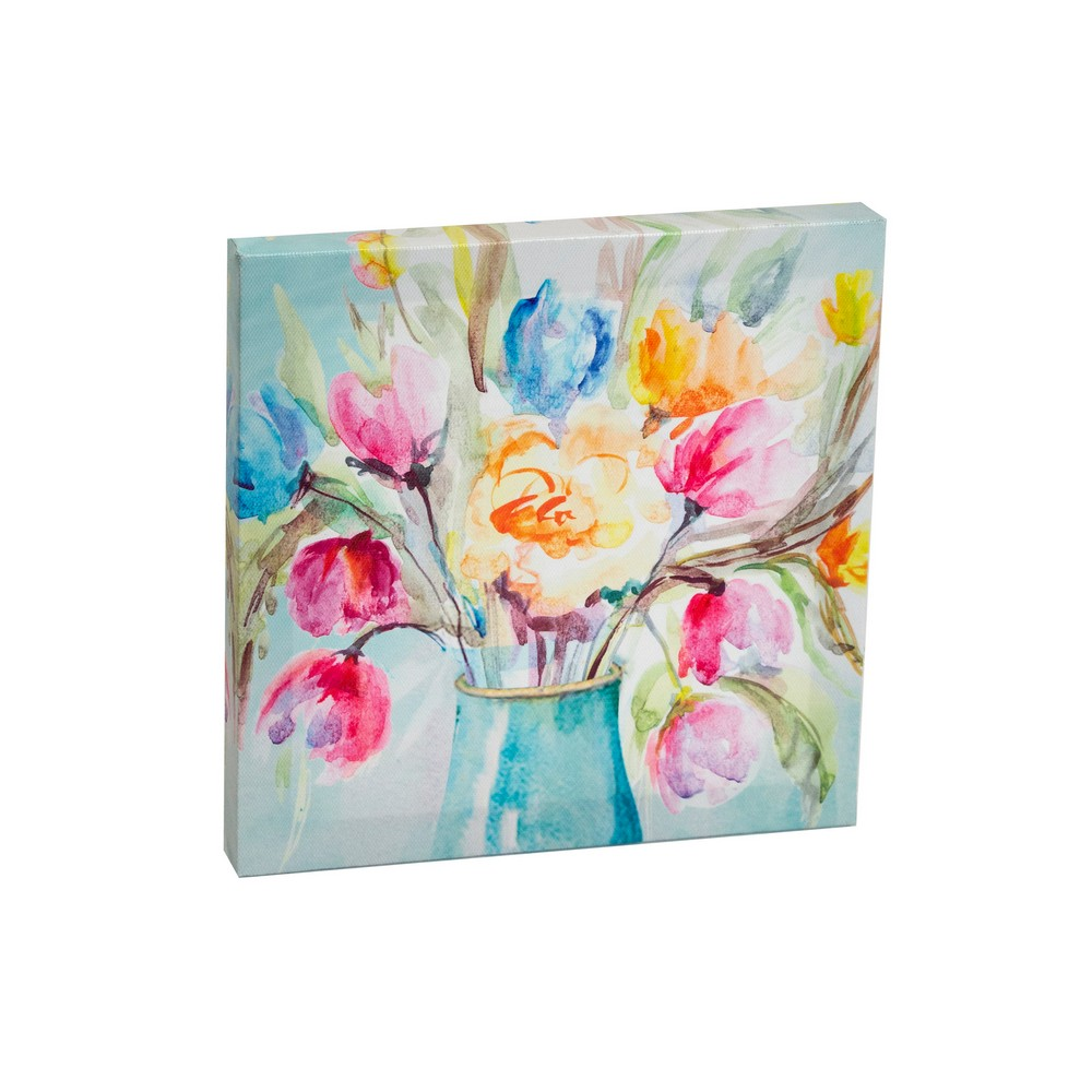 Cuadro decorativo floral 3 surt