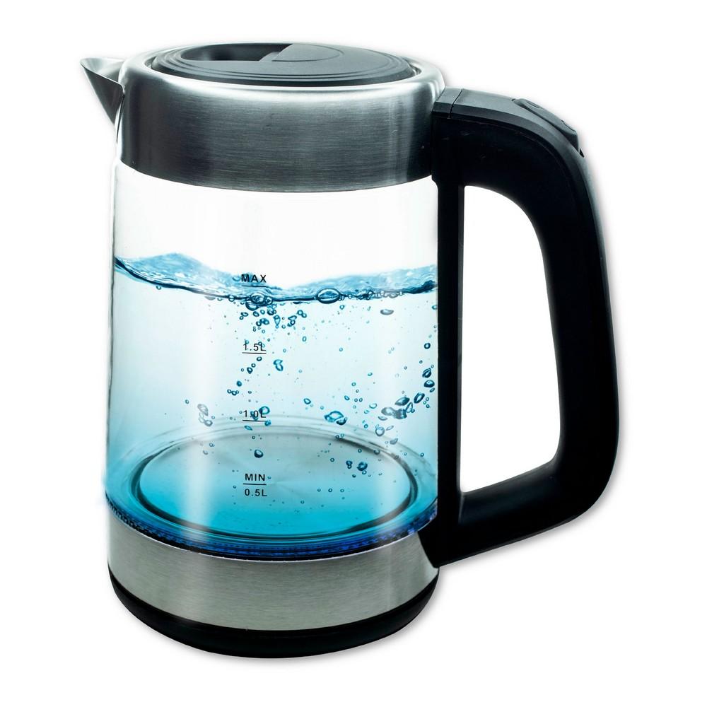 Tetera electrica de vidrio 1.8 litros