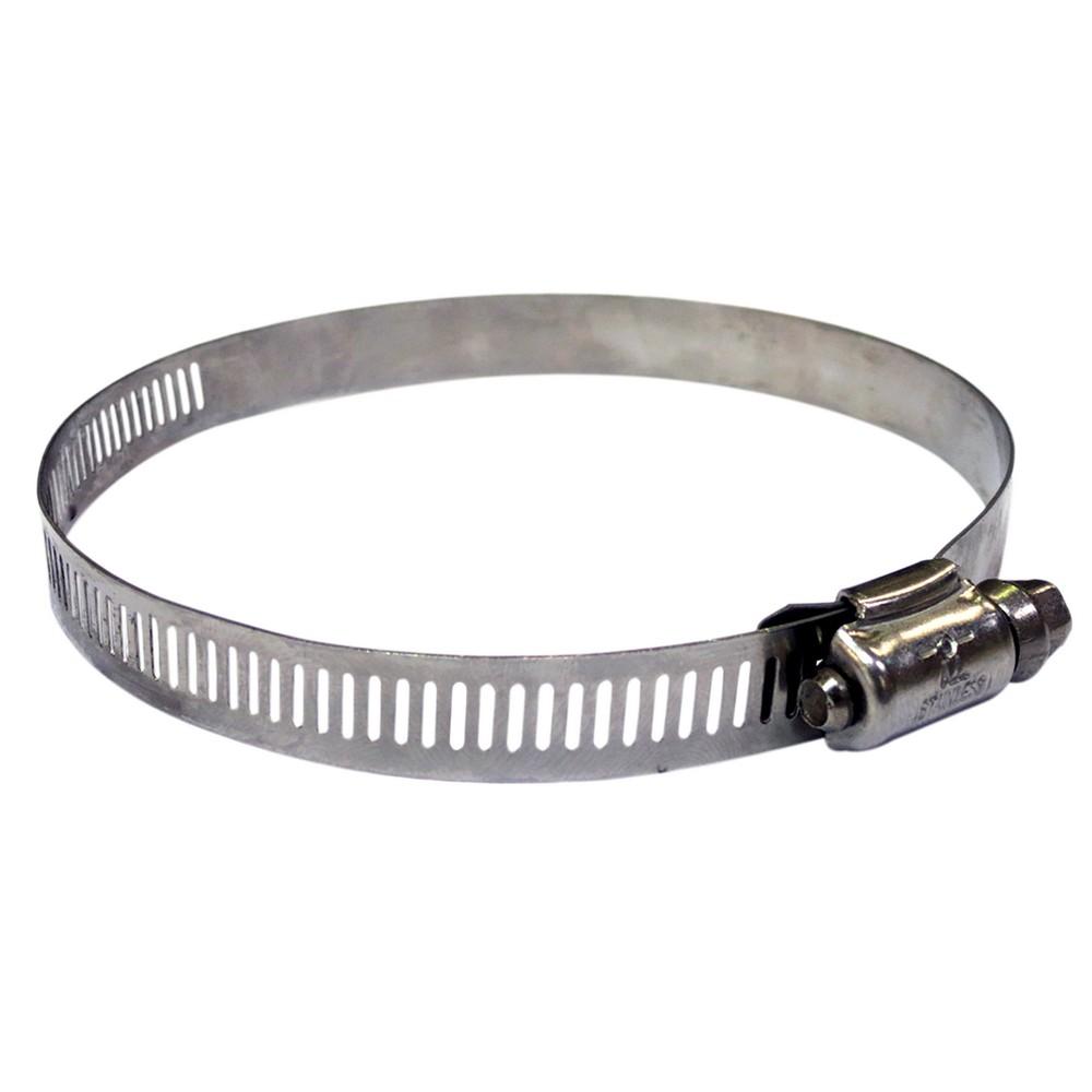 Abrazadera de acero inoxidable para manguera 3 1/2 pulg