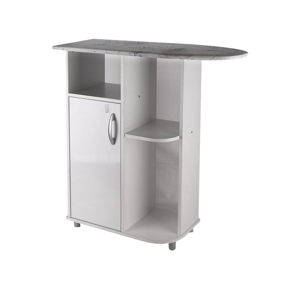 Mueble con planchador y estantes