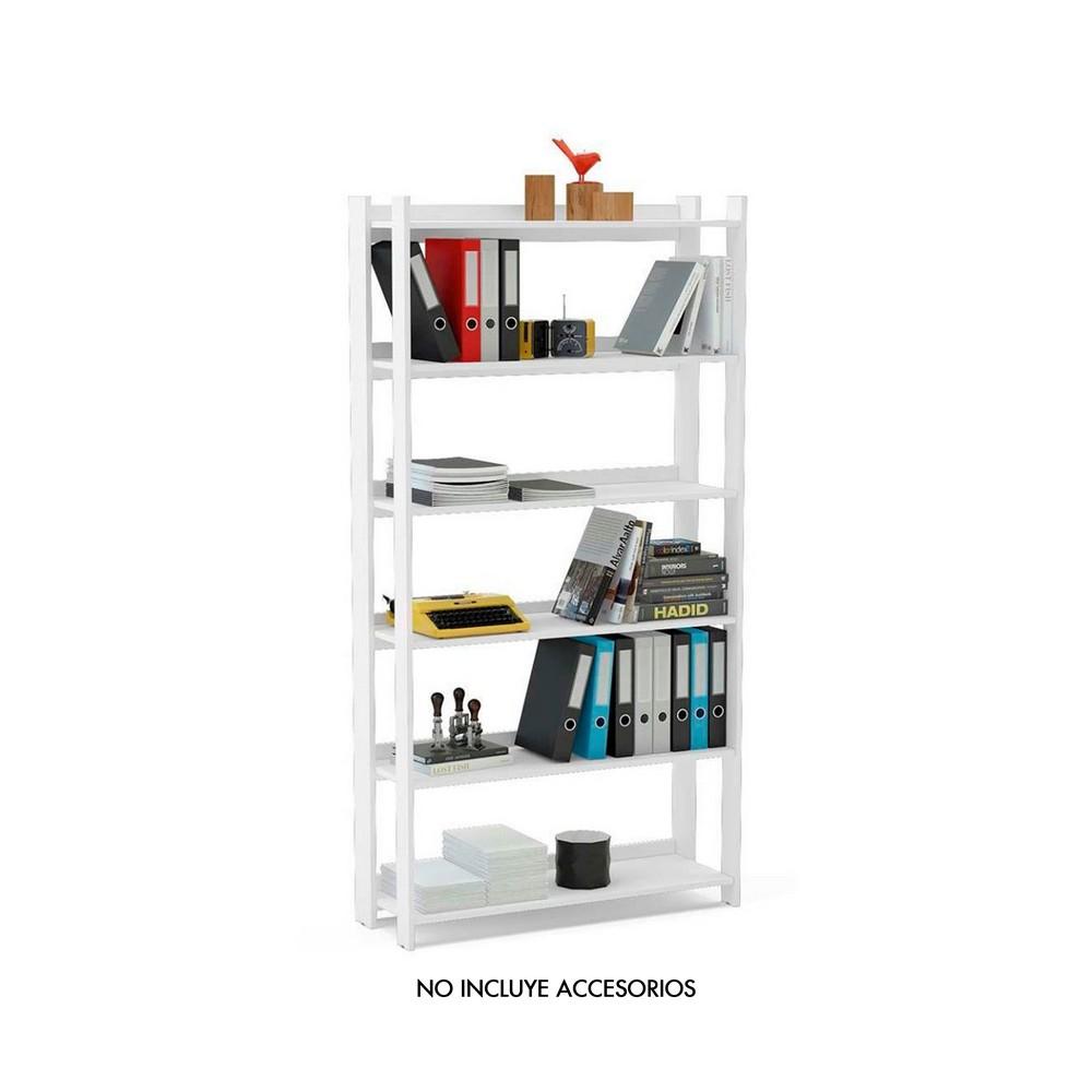 Mueble organizador multiuso 180 x 93 x 33 cm blanco