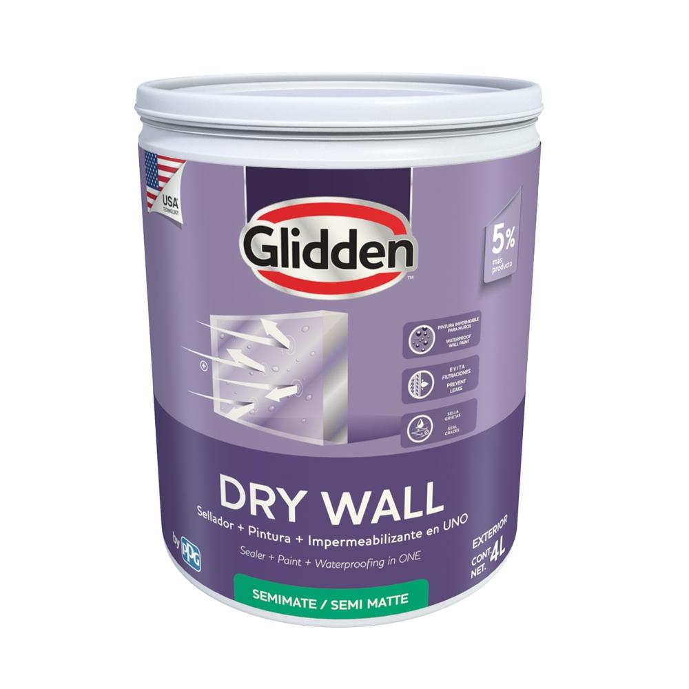 Impermebilizante dry wall blanco 4 ltrs