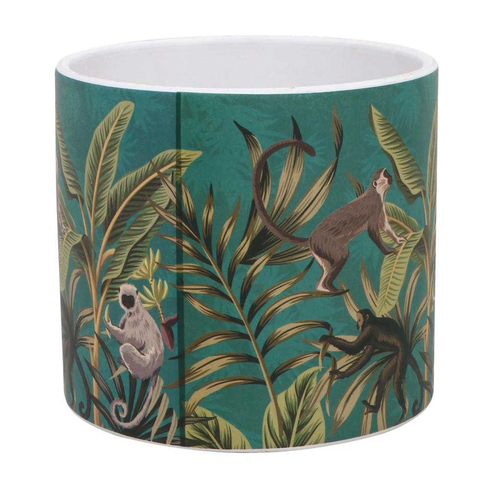 Maceta de ceramica 13x12 centimetros