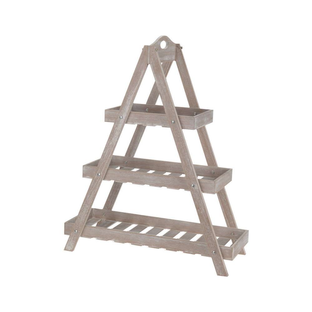 Estante de madera 3 niveles