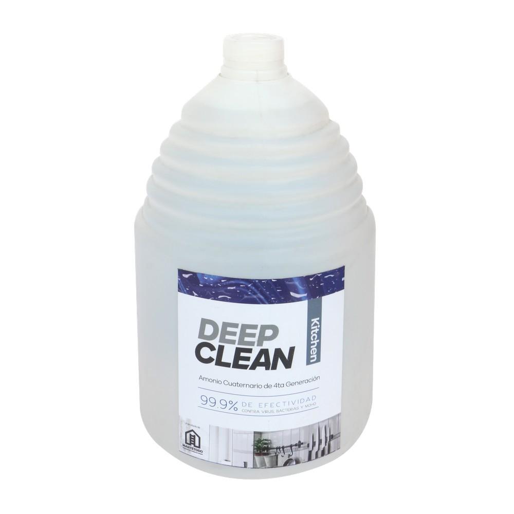 Amonio cuaternario kitchen deep clean