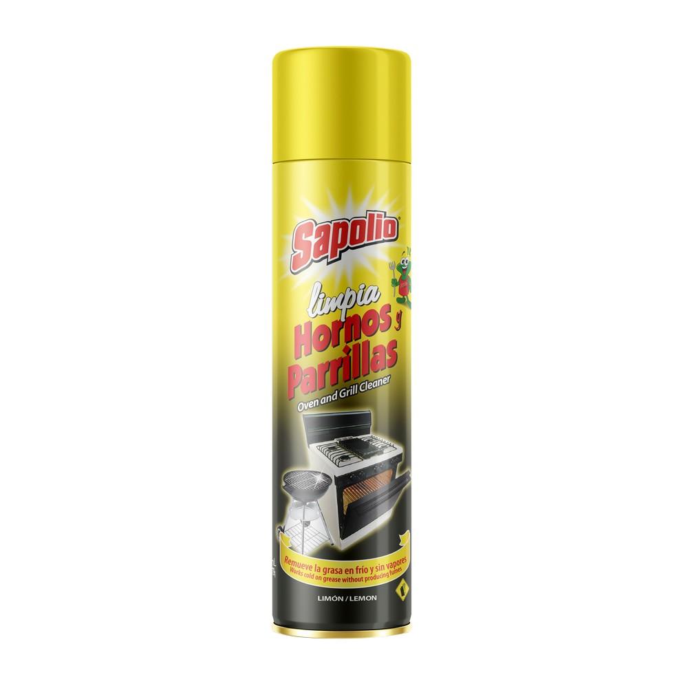 Limpia hornos y parrilas sapolio spray 360 ml 000199