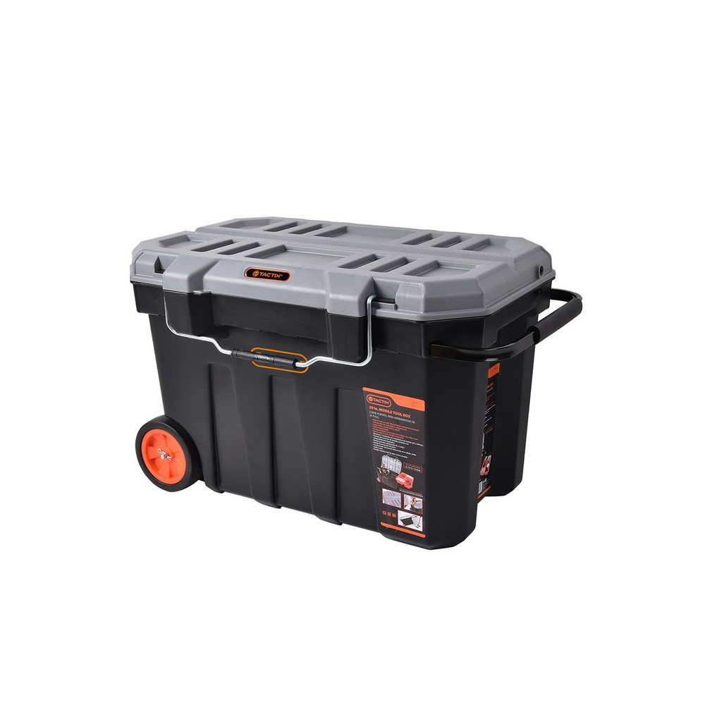 Caja para herramientas plástica con ruedas 29 pulg