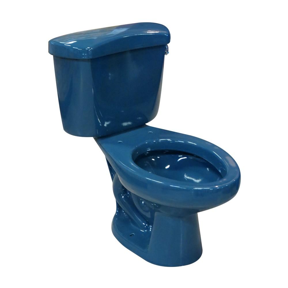 inodoro rapsody azul olympus doble descarga