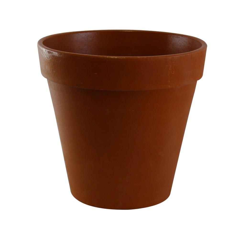Maceta de barro tipo vaso 32x34 cm