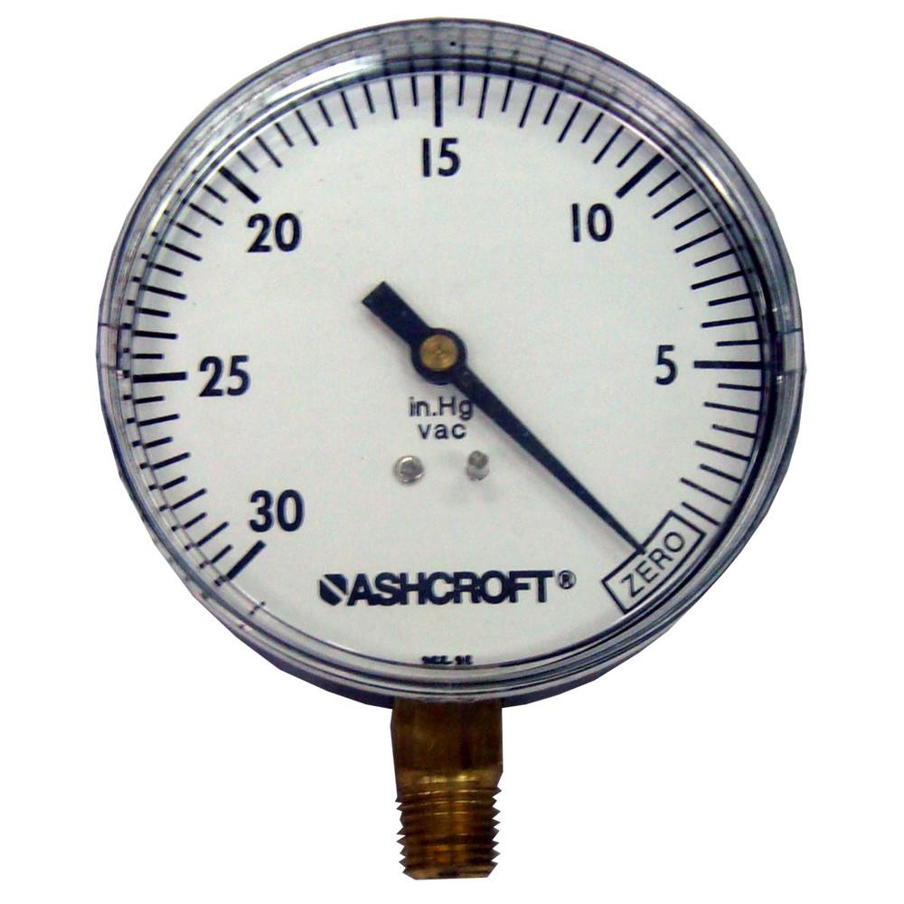 Vacuómetro 3.1/2 pulg